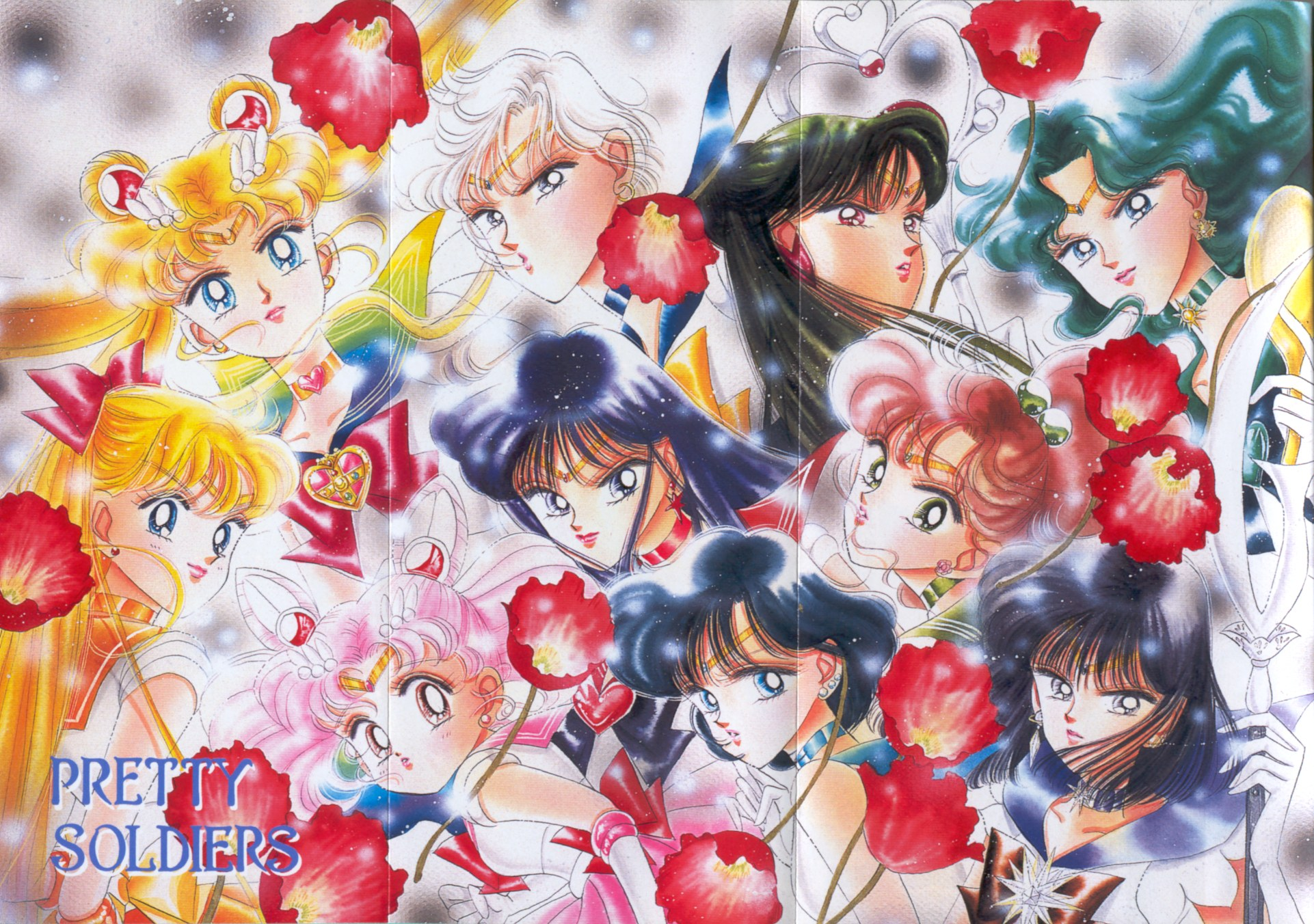 Where is Mars/Pluto? Sailormoon-artbook-3-08-09-tankoubon-poster