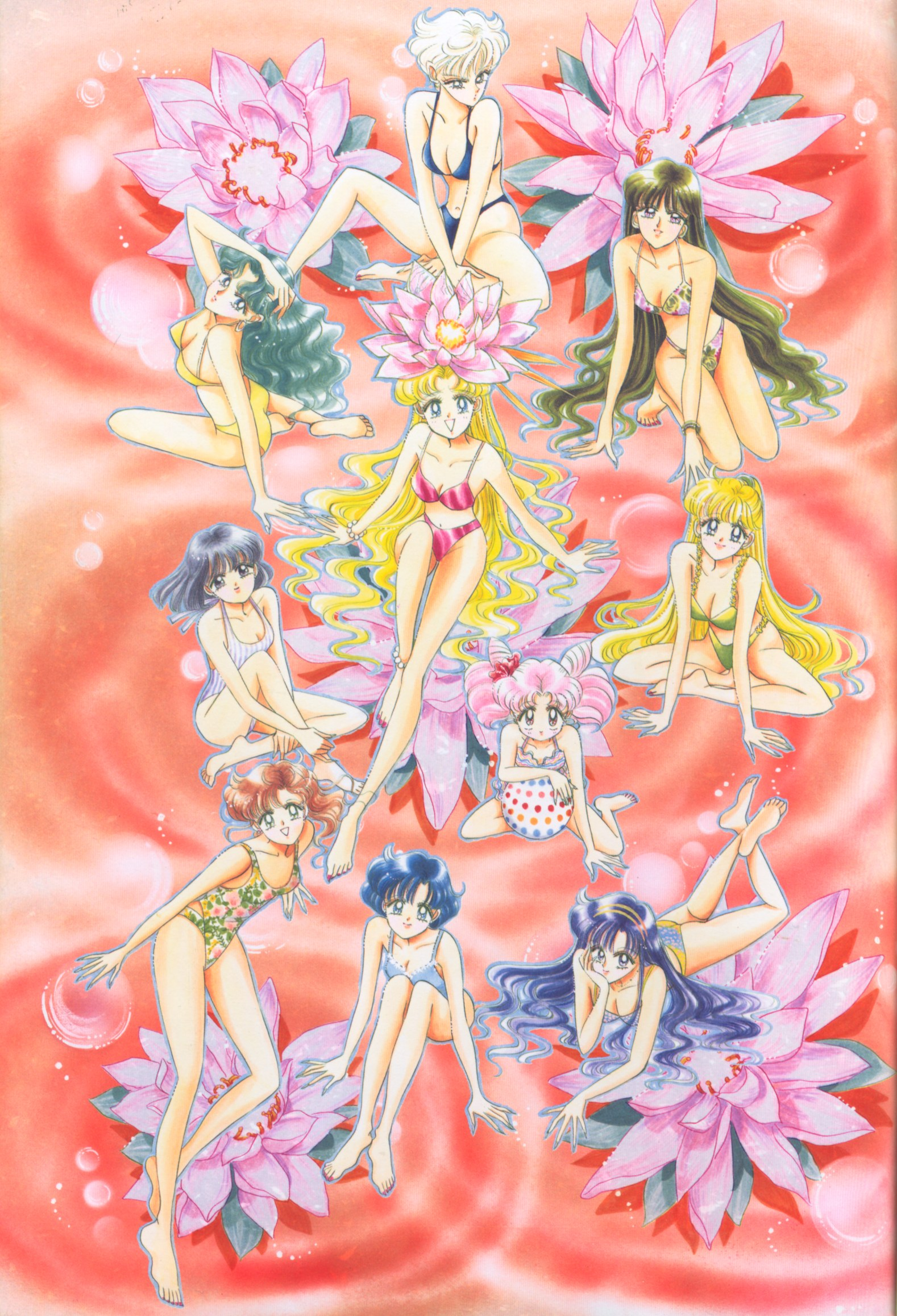 sailormoon artbook 4 11